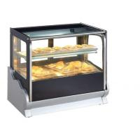 Cheap Flat Glass Table Top Pastry Showcase for sale