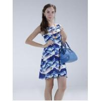 Buy cheap 100% POLYESTER PRINT DRESS from wholesalers