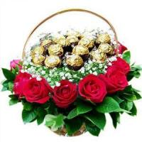 Mother's Day Ferrero Roses.No.17 delivery flower to australia sydney