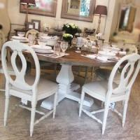 Quality round oak dining tables from 244 round oak