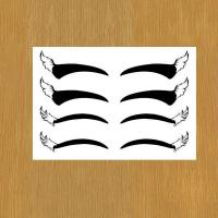 eye liner body art temporary tattoo for makeup