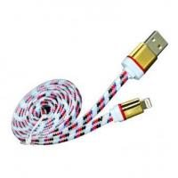 2015 China Supplier Colorful Flat Micro USB Nylon Braided USB Cable For Samsung HTC Xiaomi Huawei