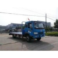 Liberation DENWAY flatbed truck (JDF5160TPBC Jiang special flatbed truck )
