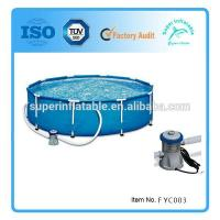 Metal frame swimming pool above ground s for sale of for Above ground pool buying guide