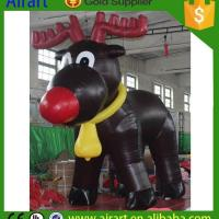 Cheap Christmas Inflatables Inflatable Blow up deers for sale