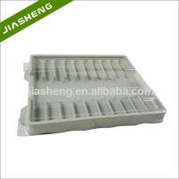 Cheap Factory price Medical Plastic Tray for medicine bottles with Clear Cover for sale