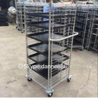 Cheap Mobile Wire Shelving - 4 Tier for sale