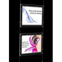 Cheap Crystal LED Super Slim Light box, 2 Light Pocket kits, Single or Double viewing sides for sale