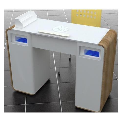 Nail table nail art manicure tables with fan china for Cheap nail desk