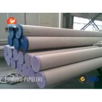 Cheap Super Duplex Stainless Steel Pipe ASME SA790 S32760 for sale