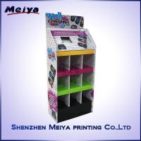 Cheap Carton Advertising Cardboard Floor Display Stands For Computer Mouse And Keyboard for sale