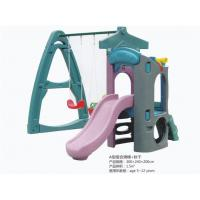 Cheap Special Design Children Plastic Swing and Slide Both for Outdoor and indoor Use for sale