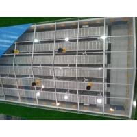 Slantwise-stacked broiler cage equipment