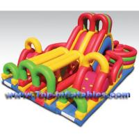 Cheap Inflatable Bouncers Giant Slide Combo for sale