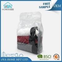 Waterproof PVC Zipper Pouch Bags With Hanger Hole For Packaging