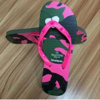 Cheap High quality natural rubber Flip flop with rubber strap for sale