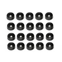20 Medium Round Rubber Feet - .312 H X .875 D - Made in USA -- Free Shipping USA Manufactures
