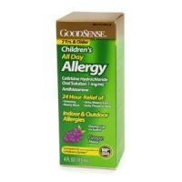 Good Sense Children's All Day Allergy Oral Solution, Grape Manufactures
