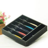 hollow out bamboo cutlery tray Manufactures