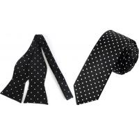 Cheap Polka Dot Tie Or Bow Ties For Men for sale