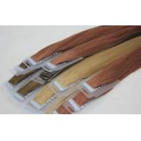 Blue Tape Cuticle Brazilian Virgin Hair Tape in Hair Extensions