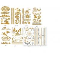 Category:Gold Silver temporary tattoo sticker