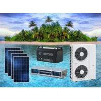 Cheap ACDC Hybrid Solar Air Conditioner Concealed Duct Type for sale
