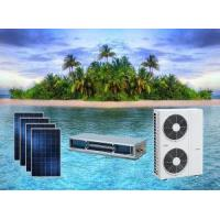 Cheap ACDC On Grid Hybrid Solar Air Conditioner Duct Type Space-saving for sale
