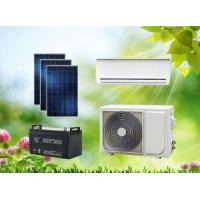 Cheap ACDC Hybrid Solar Air Conditioner Split Wall-Mounted Type for sale