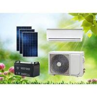 Cheap 48V Wall Split DC Solar Powered Air Conditioner Without Grid For Island Home Use for sale