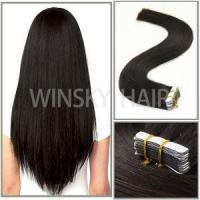 "16""20 Pcs 40 Gram Per Package Skin Weft Tape in Remy Human Hair Extensions for Women Manufactures"