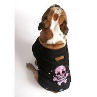 "Cheap Apparel Black ""Biker Girl"" Jacket with Pink Skulls for sale"
