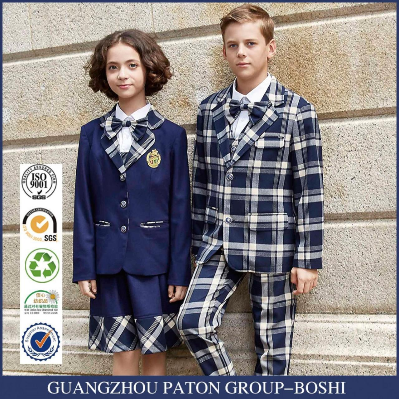 Cheap New design school uniform custom student suit for sale