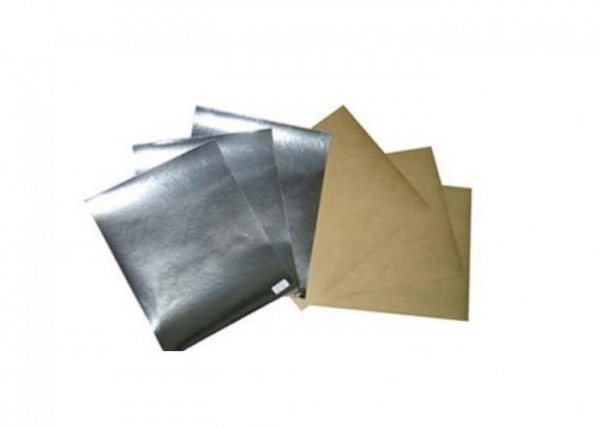 Metallized holographic pet laminated paper board for