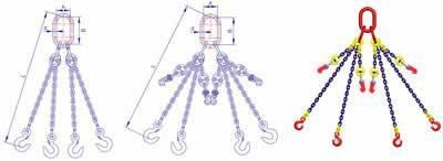Quality Four Leg Chain Sling Assembly(Grade T8) wholesale