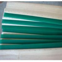 Polyurethane Screen Printing Rubber Squeegee Scaper Blade With Handle