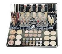 Custom clear acrylic makeup brush holder organizers NMD-018 Manufactures