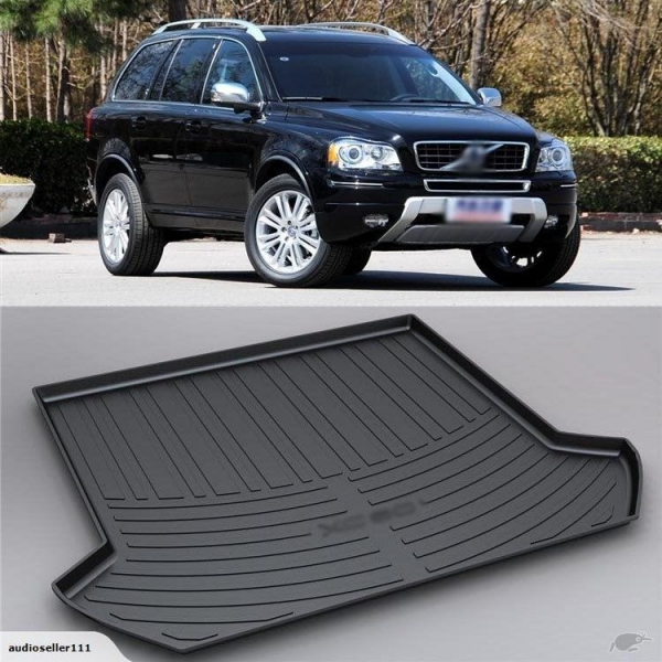 3D Boot Liner / Cargo Mat / Trunk liner Tray for Volvo XC90 with certificate of VOLVO Trunk ...