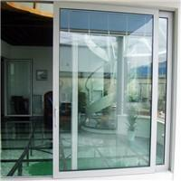 Cheap Aluminum sliding door with electric remote control blind inside double glass for sale