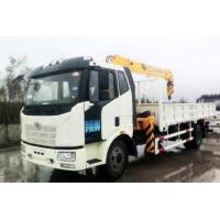 Buy cheap FAW Mobile Crane/boom/ Truck Mounted Crane 4X2/8X4,180 To 420HP 3tons Euro 3 For Sale from wholesalers