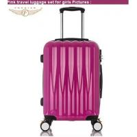 Buy cheap New Pink Travel Luggage Set for Girls from wholesalers