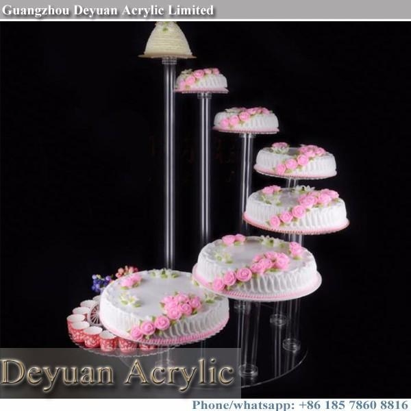 cake stand custom made plexigalss large wedding cake stands for sale