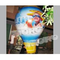 China Inflatable Ground Balloon Digital Printed/Giant Inflatable Advertising Balloon for Promotion on sale