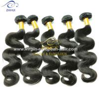 Cheap Full cuticle dyeable body wave hair weaving double drawn virgin brazilian human hair extension for sale