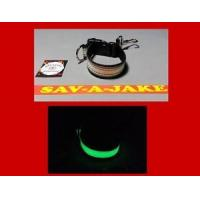 Buy cheap Firefighter Glove Strap - Glow in the Dark AND reflective trim Black Webbing from wholesalers