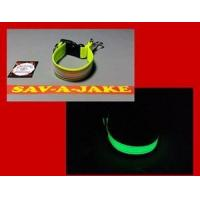 Buy cheap Firefighter Glove Strap - Glow in the Dark AND reflective trim Yellow Webbing from wholesalers