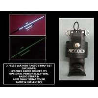 Buy cheap Firefighter Glow/Reflective Leather Radio Strap & Holder Set from wholesalers