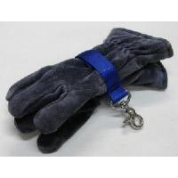 Cheap Glove Strap - trigger snap - Blue for sale
