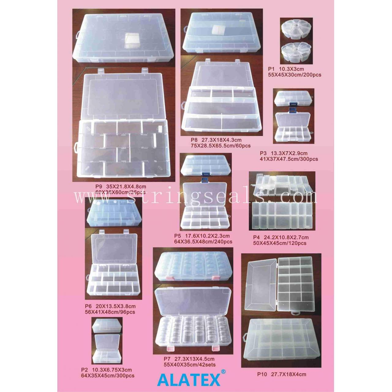 Clear Plastic Storage Box for small tools and accessaries