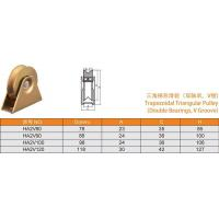 Cheap Trapezoidal Triangular Pulley for sale